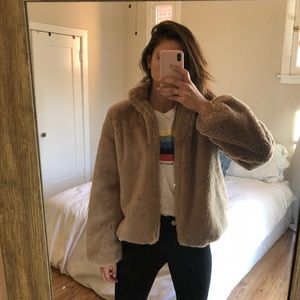 Tularosa Faux Fur Jacket